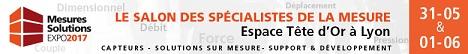 Bannière Mesures Solutions Expo