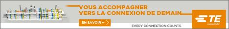 Bannière TE Connectivity