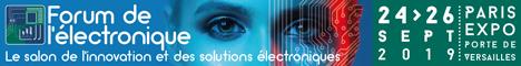 Bannière Forum de l'électronique